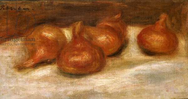 Still life with pomegranates (oil on canvas)