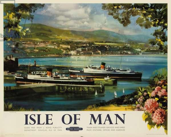 Isle of Man, 1954 (colour litho)