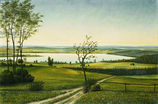 Osterseen, 1925 (oil on canvas)
