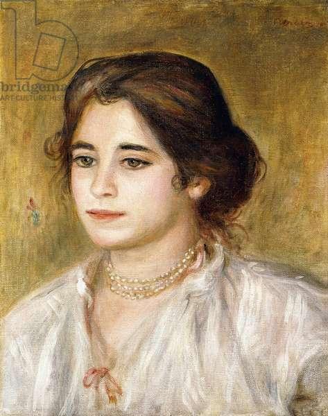 Gabrielle au Collier, 1906 (oil on canvas)