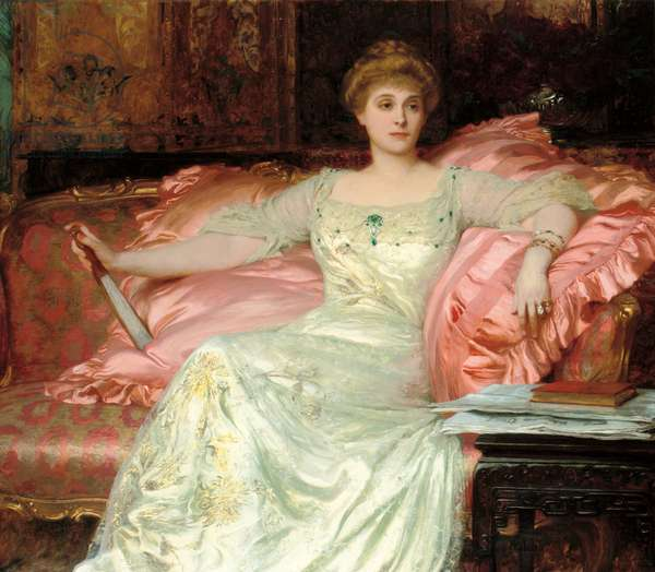 Portrait of Mrs. W. K. D'Arcy, 1902 (oil on canvas)