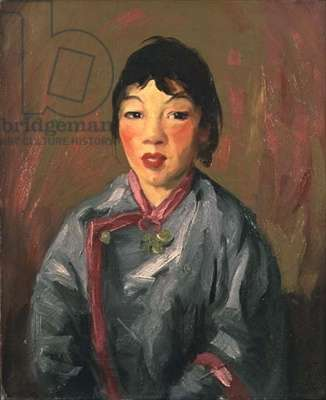 Grace, Chinese Girl, 1917 (oil on canvas)