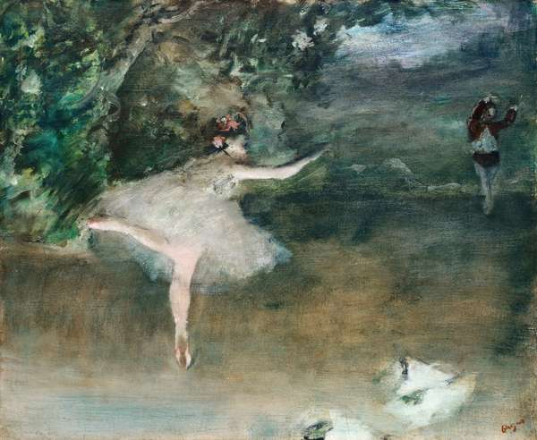 Les Pointes, c.1877-1878 (oil on canvas)