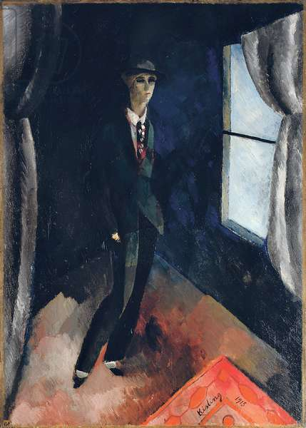 Man in Front of the Window, 1915 (oil on canvas)
