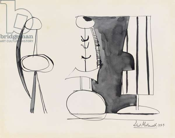 Untitled, 1944 (pen & ink and wash on paper)
