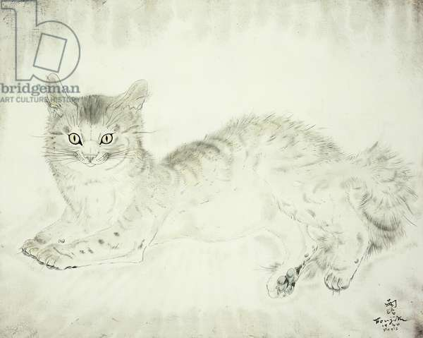 Cat; Chat, 1940 (oil on canvas)