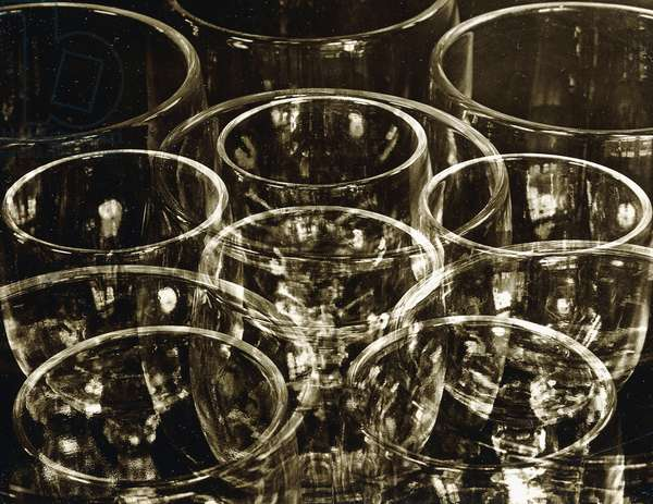 Wine Glasses, 1925 (gelatin silver print)