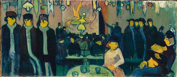 The Tabarin, or Cabaret in Paris, 1888-89 (oil on canvas)