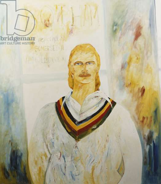 Ian Botham, 1985 (oil on canvas)