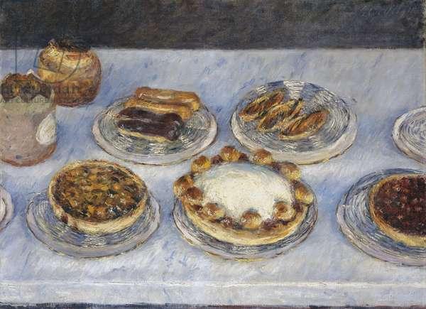 Cakes, 1881 (oil on canvas)