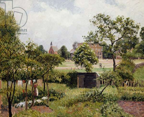 A View of Stamford Brook Common; Vue de Stamford Brook Common, 1897 (oil on canvas)