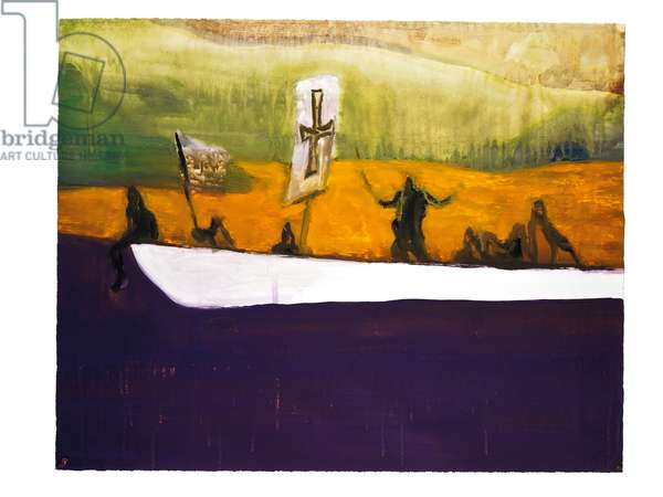 Canoe, 2008 (digital print in colours on wove paper)