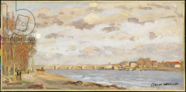 The Seine at Argenteuil, 1872 (oil on canvas)