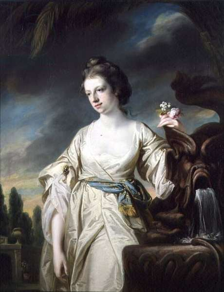 Portrait of Mrs Richard Miles