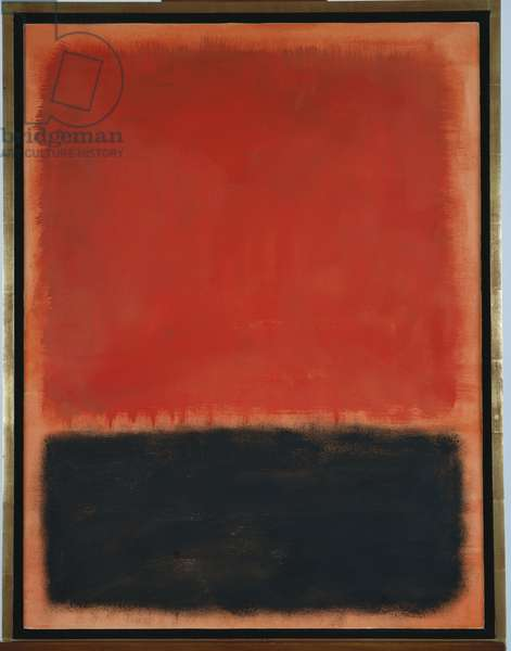Composition, 1959 (oil on paper laid down on panel)