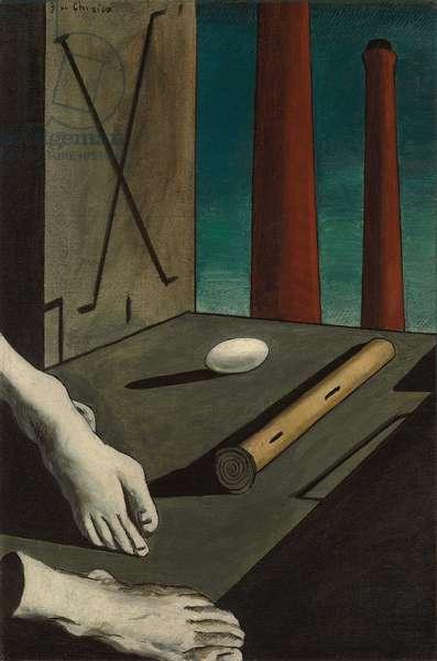 Metaphysical Composition; Composition Metaphysique, 1914 (oil on canvas)