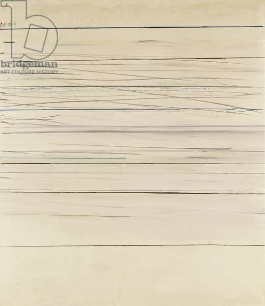 Untitled, 1971 (graphite, crayon and gouache on paperboard)