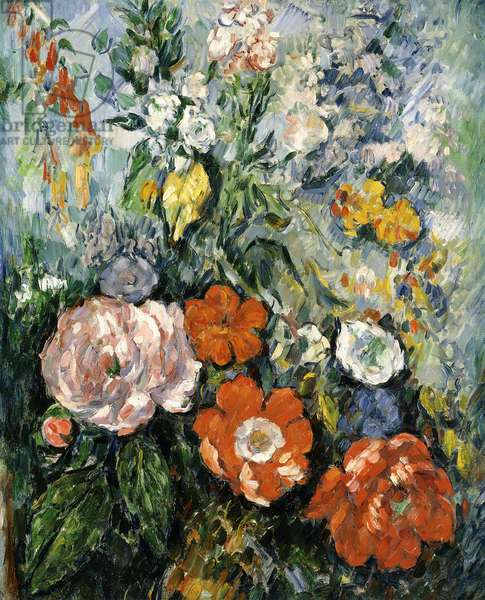 Bouquet of Flowers, 1879-1880 (oil on canvas)