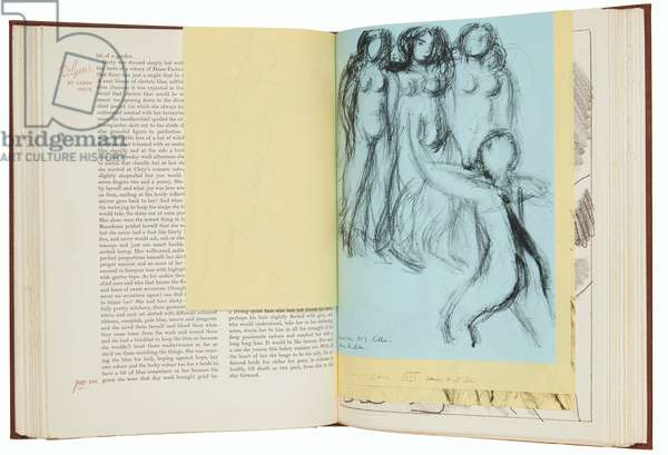Illustrated edition of Ulysses by James Joyce (1882-1941), 1935 (book with etchings & reproduced drawings)