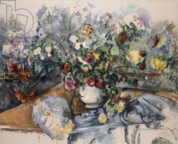 A Large Bouquet of Flowers, c.1892-95 (oil on canvas)
