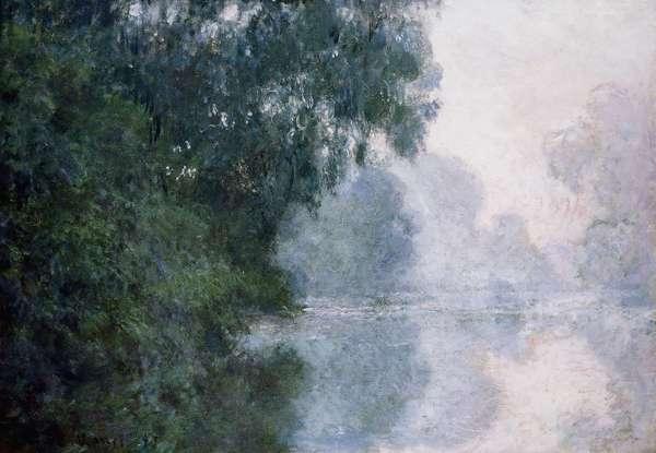 Morning on the Seine, Effect of Mist; Matinee sur la Seine, Effet de Brume, 1897 (oil on canvas)
