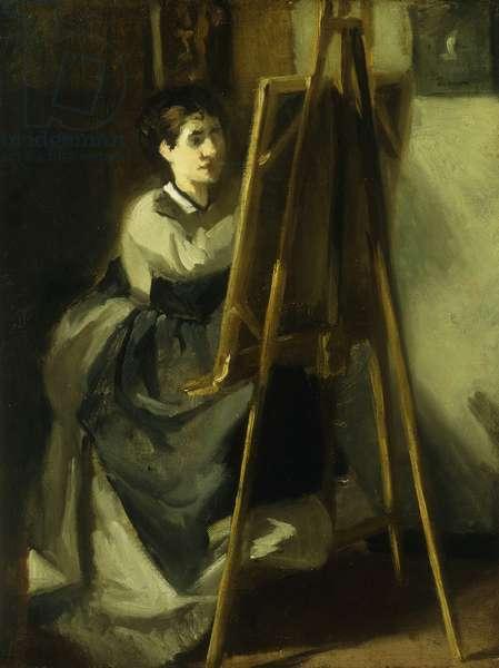 The Young Pupil; La Jeune Eleve, c.1870 (oil on canvas)