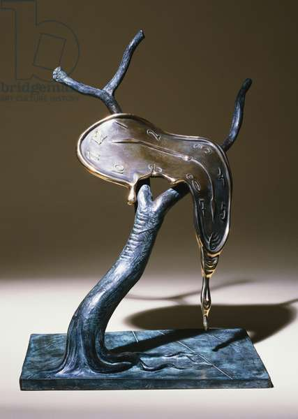 Profile of Time, 1984 (bronze with green & brown patina)