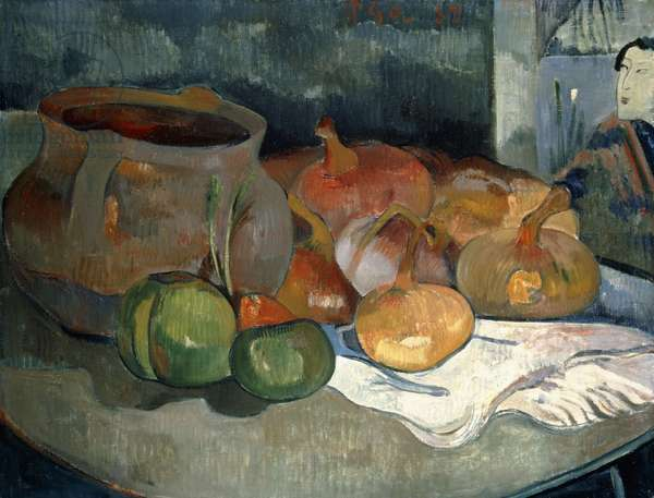 Still-life with Gourds, 1889 (oil on canvas)
