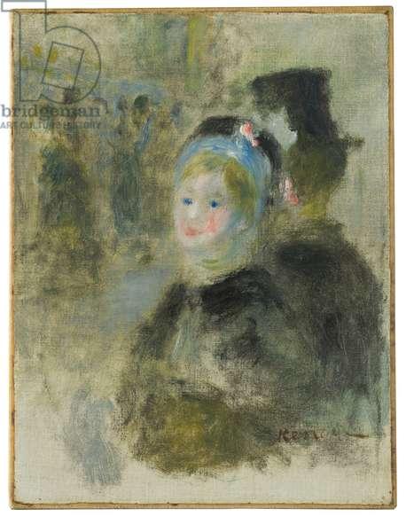 Etude pour La Place Clichy, 1880 (oil on canvas)