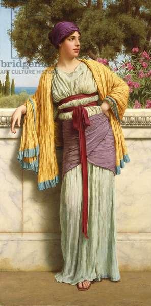 Cestilia, 1919 (oil on canvas)