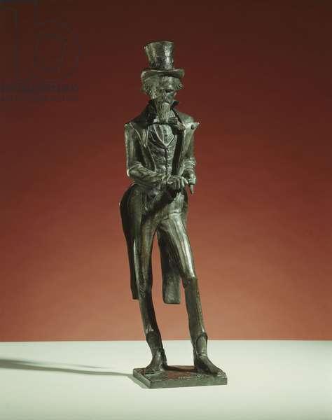 Uncle Sam, c.1930-31 (bronze with dark brown patina)