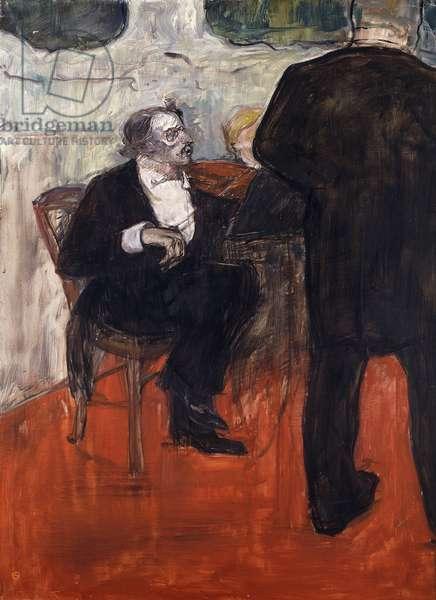 The Violinist Dancla; Le Violiniste Dancla, 1900 (oil on canvas)