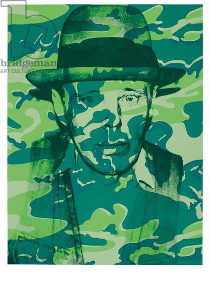 Joseph Beuys In Memoriam, 1986 (screenprint)