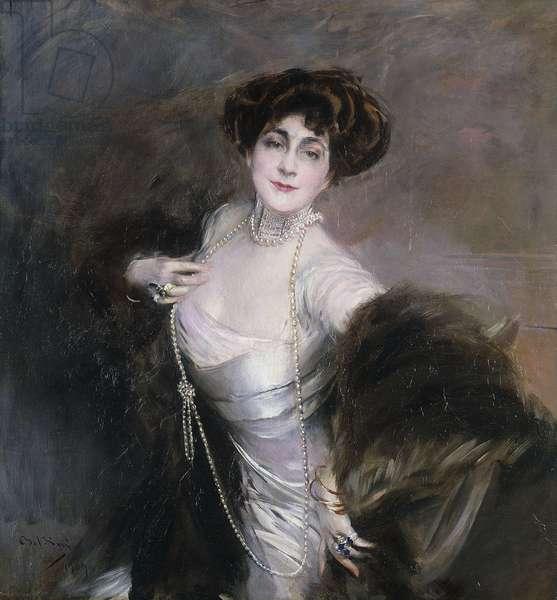 Portrait of Diaz Albertini, 1909 (oil on canvas)