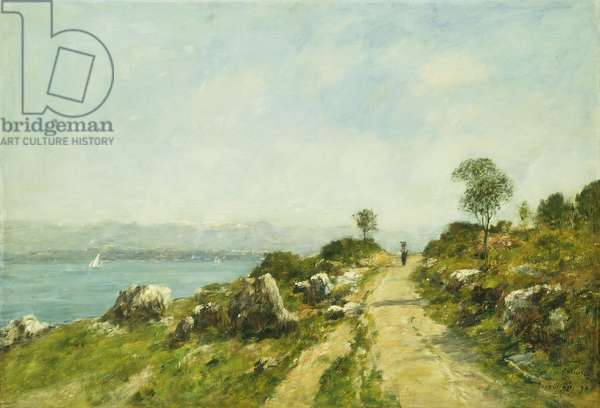 The Road, Antibes; Antibes, la Route, 1893 (oil on canvas)