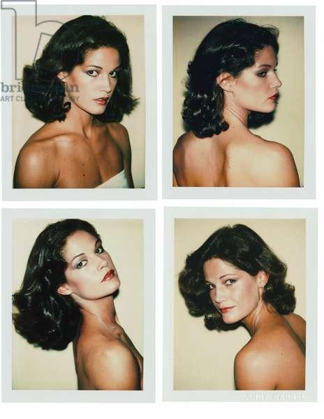 Barbara Allen, 1977 (four Polaroid prints)