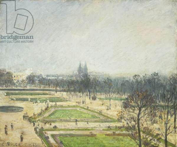 The Tuileries Ponds, Mist; Le Bassin des Tuileries, Brume, 1900 (oil on canvas)