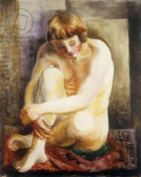 Seated Nude; Nu Assis, 1922 (oil on canvas)