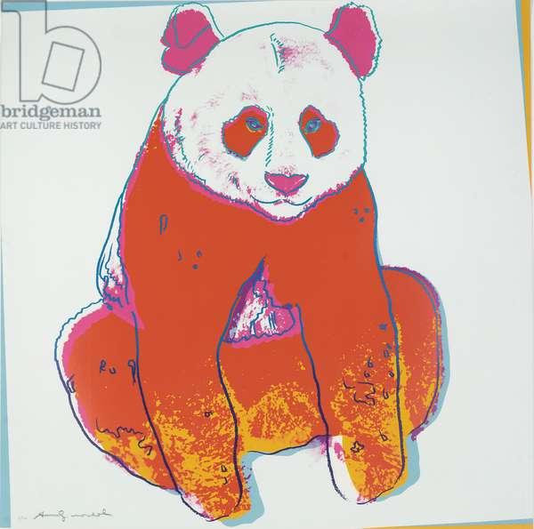 Giant Panda, 1983 (screenprint)