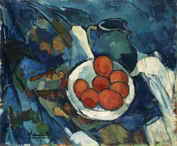 Still Life; Nature Morte, 1909-1911 (oil on canvas)