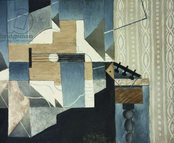 Guitar on Table; La Guitare sur la Table, 1913 (oil on canvas)