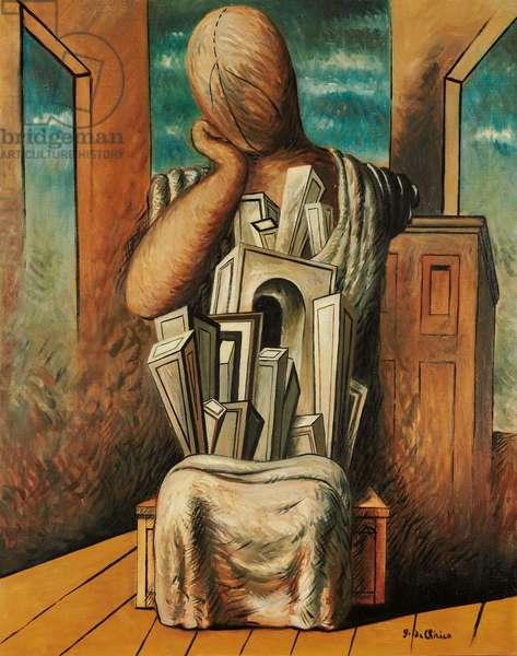 The Philosopher, 1926 (oil on canvas)