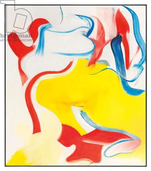 Untitled V, 1983 (oil on canvas)