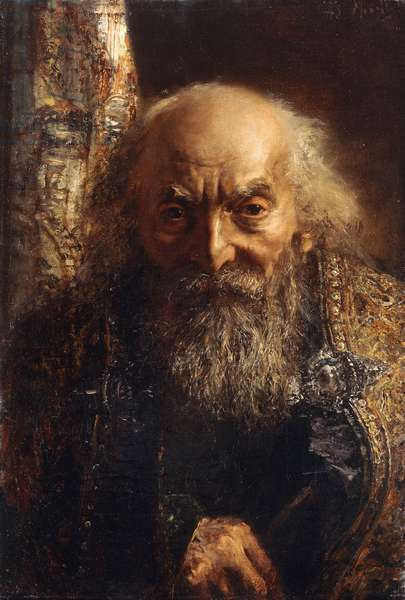 Der Rabbi von Baghdad, c.1851 (oil on canvas)