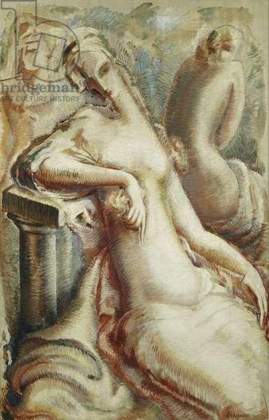 After a Bath; Apres le Bain, 1925 (oil on canvas)