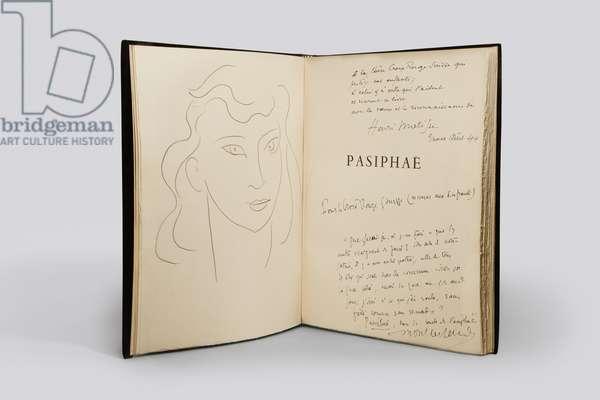 'Pasiphaé. Chant de Minos (les Crétois)' by Henry Millon Montherlant, 1944 (litho & letterpress)