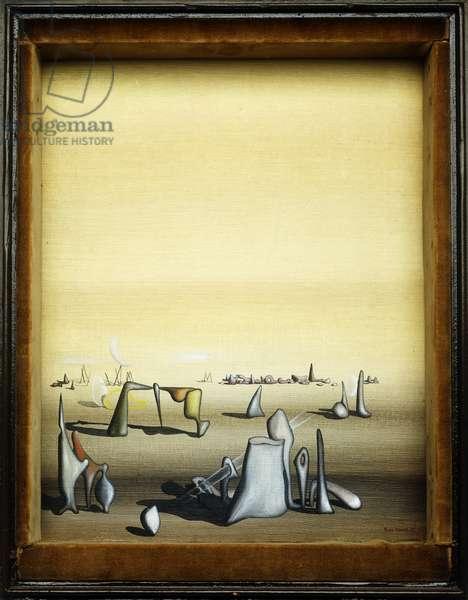 Untitled; Sans Titre, 1935 (oil on canvas)
