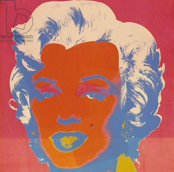 Marilyn, 1967 (colour screenprint)