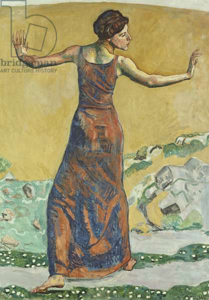 Joyous Woman, 1911 (oil on canvas)