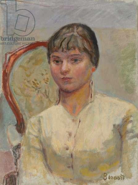 Young Woman in an Armchair (Study); Jeune femme au fauteuil (etude), c.1916 (oil on canvas)